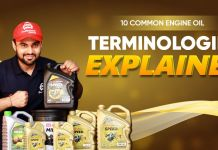Common Engine Oil Terminologies Explained
