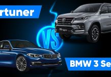 Fortuner vs BMW 3 Series ft (1)