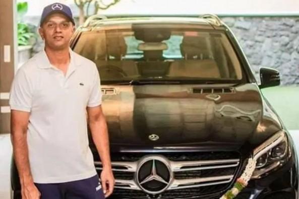 Rahul Dravid's car collection