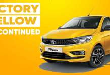 Tata Tiago Victory Yellow Discontinued