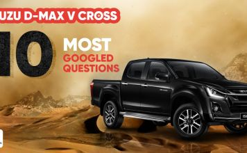 10 most googled questions about the Isuzu D-Max V-Cross