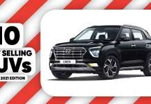 10 Best Selling SUVs In April 2021