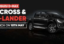 2021 Isuzu D-Max Launch-ft