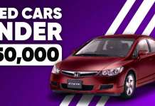 Best Second Hand Used Cars Under ₹50,000