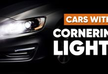 Cars with cornering lights-ft
