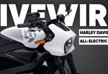 Harley Davidson Introduces All-Electric Brand LiveWire