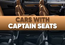 cars with captain seats ft