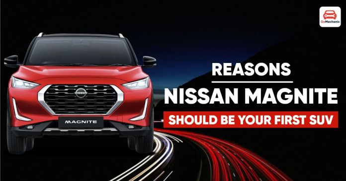 magnite should be your 1st suv ft