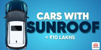 CARS WITH SUNROOF ft