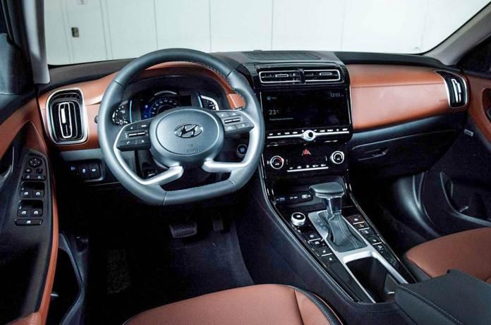 Updated Hyundai Creta Interior