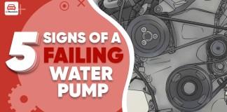 Failing water pump