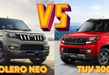Neo vs TUV300