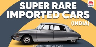 Rare Imported Cars In India