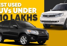 Suvs under 10 lakhs