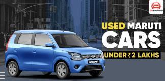 Used Maruti Cars Under 2 Lakhs