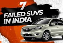 Failed SUVs in India