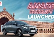 Amaze facelift launched ft