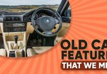 Old Car Features That We Terribly Miss