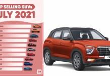 Top Selling SUVs