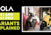 OLA S1 And S1 Pro Electric Scooters, Variants Explained