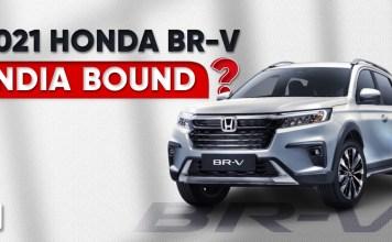 Honda BR-V Makes A Comeback