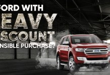 Ford cars with Heavy Discount