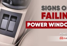 Crucial Symptoms of a Failing Power Window