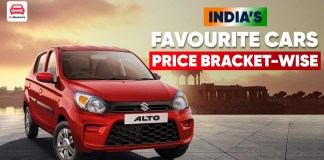 India's Favourite Cars Under Different Price Brackets