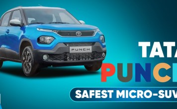 Tata Punch Safest Micro-SUV in India