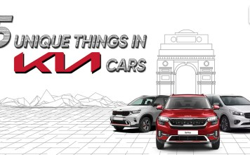 Unique things in Kia Cars