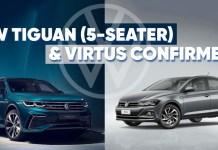 VW Tiguan (5-Seater) & Virtus Confirmed?