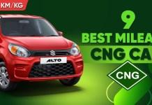 Most Fuel Efficient Best Mileage CNG Cars