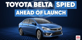 Toyota Belta Spied Ahead of Launch