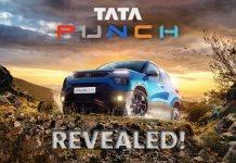 Tata punch revealed