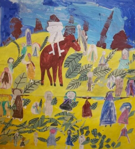"""Palm Sunday"" by Year 1"