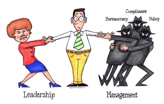 Leadership vs. Management