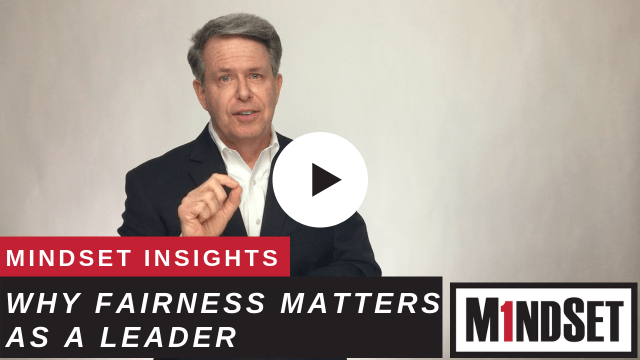 Why Fairness matters as a leader
