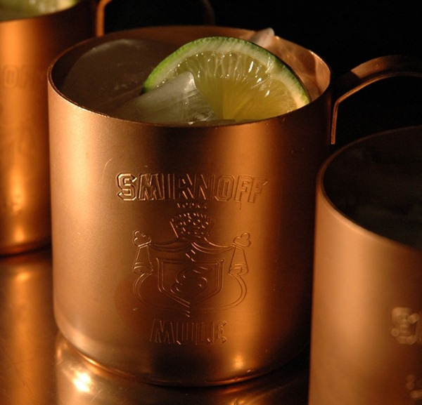 GoMoscowMule All For Moscow Mule Solid Copper Mugs Five