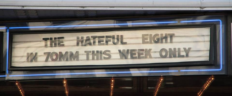 The Hateful Eight Rivoli Cinema