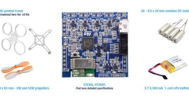 ST Microelectronics firmasından Drone Geliştirme Kiti