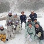 雪の観察会