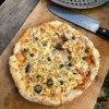 天然ハマチ刺、カニとゴルゴンのピザ、耕運機壊れる