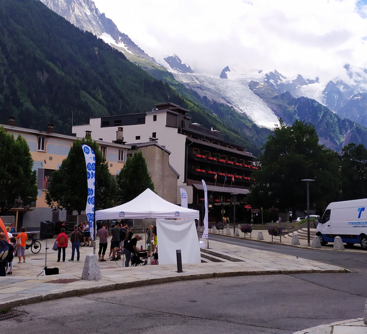 First arrived in Chamonix