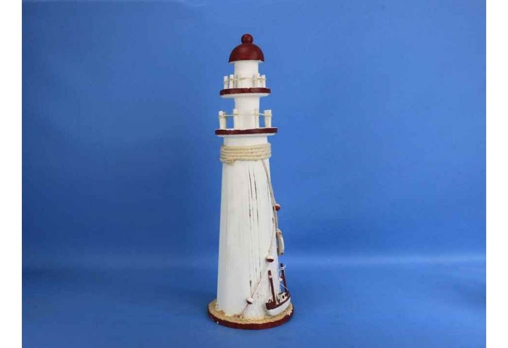 Wooden Rustic Bay Harbor Decorative Lighthouse
