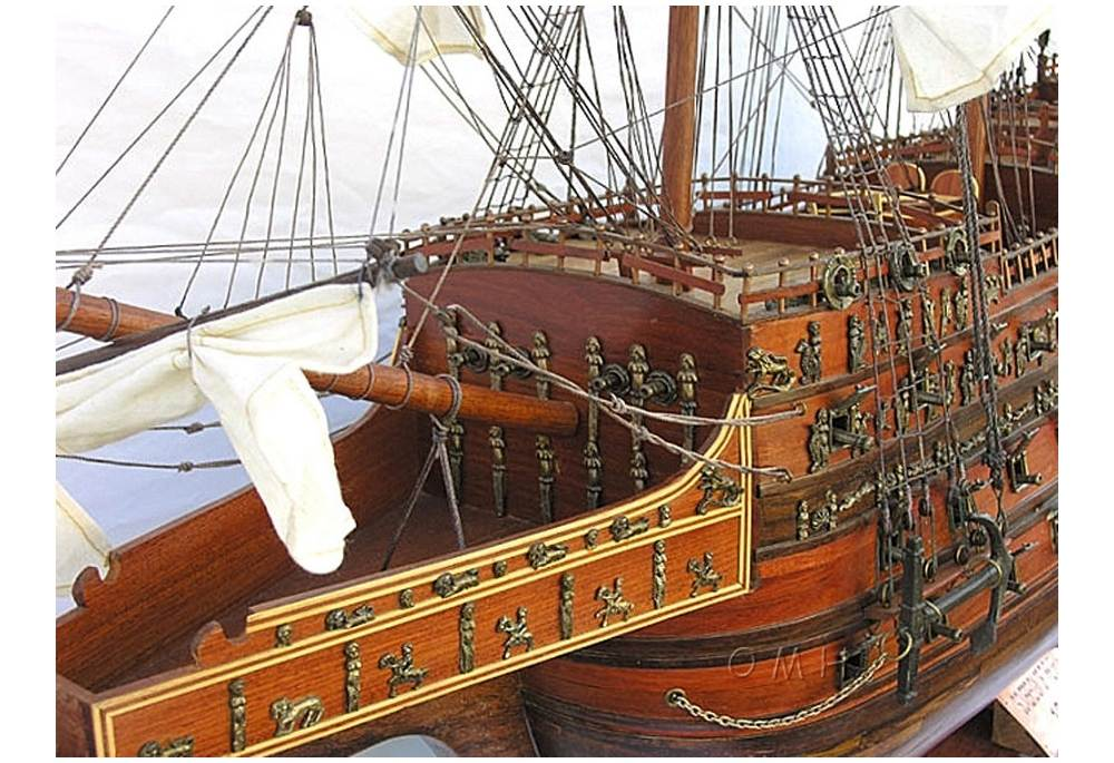 Sovereign Of The Seas Wooden Tall Ship Model XLarge