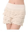 Sexy Crochet Lace Cake Short Skirts