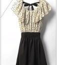 XS-XXL-With-Belt-Women-Hot-Sale-Korean-Style-Ruffles-Short-Sleeve-Chiffon-Polka-Dots-Mini