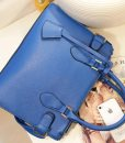 Women PU Belt Decoration Messenger Handbag