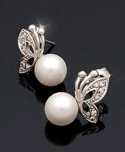 Exquisite Butterfly Shape Olivet Earrings