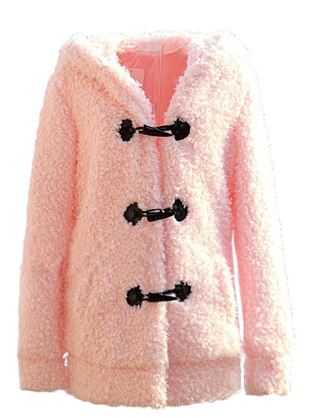 Thicken Warm Plush Fleece Bunny Ears Tail Coat